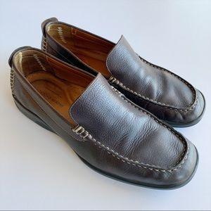 Johnston & Murphy Dark Burgundy Brown Leather 9.5
